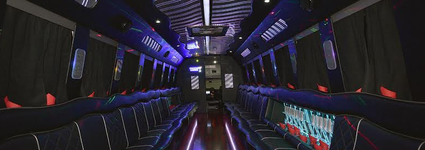 Party Bus 35 Pax nterior design