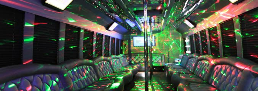 Interior design of Party Bus 42 Pax