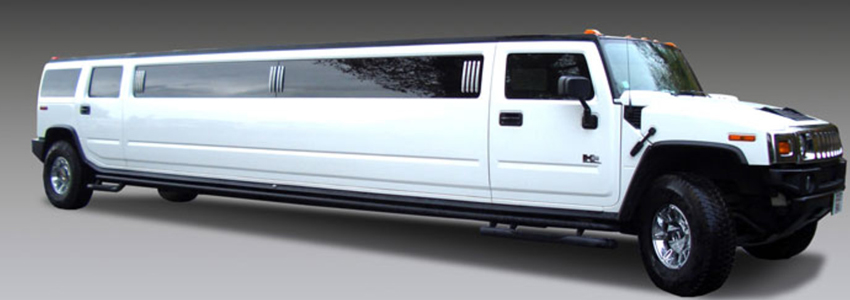 12 pax white Hummer suv limo