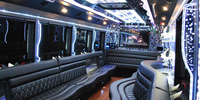 Party Bus 20 Pax interior design