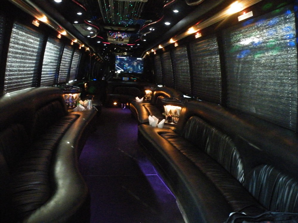 Party Bus 28 Pax nterior design
