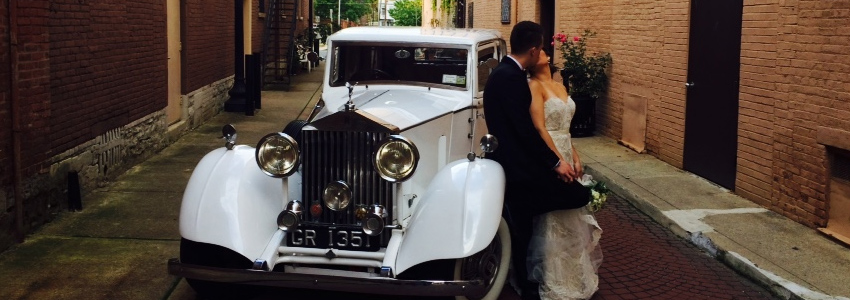 Rolls Royce 1937 Wedding Limo