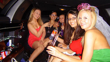 bachelor/ette party limo