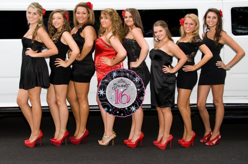 Luxury Limo Service For Sweet Sixteen Party