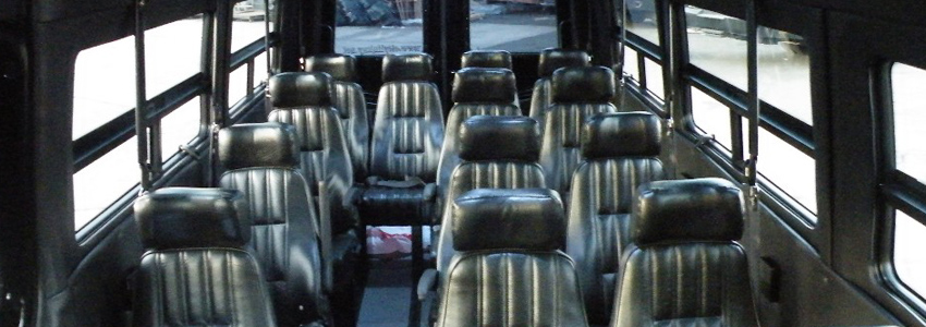 14 Pax Mercedes Sprinter Van Seats